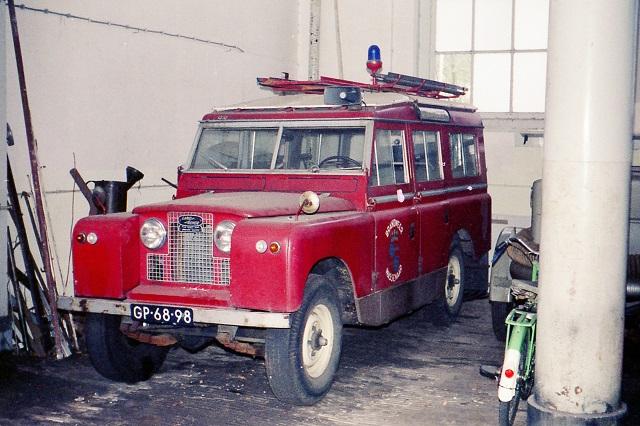 Restauratie Land Rover Van De Brandweer Wassenaar